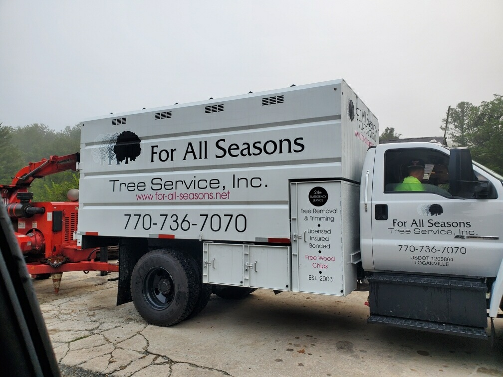 Our Tree Service Equipment - For All Seasons Tree Service in Loganville, GA